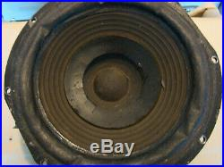 1967 Original Acoustic Research AR-3 AR3 Woofer. Works as it should and sounds