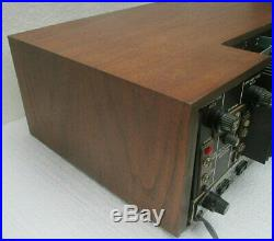 1971 ACOUSTIC RESEARCH Stereo RECEIVER Model R Amp Radio Speakers AR3 BIN