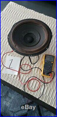 (1) Acoustic Research AR3 AR3A Alnico Woofer Speaker 1 of 1