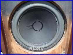 2 AR-2ax Acoustic Research 3 way Cabinet Speakers Woofers Reconditioned