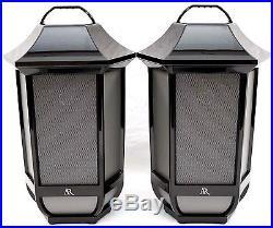 2 PACK AR Indoor /Outdoor Hanging Lantern Portable Wireless Bluetooth Speakers