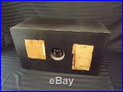 2 Vintage Acoustic Research AR-2A Wood case Loud Speakers Tested Working AR2A