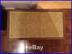 2 Vintage Acoustic Research speakers AR 4x