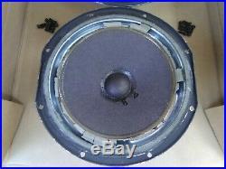 2 Vtg Acoustic Research AR-3A 12 Subwoofer Woofers Needs Surrounds Restoration