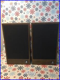 ACOUSTIC RESEARCH AR18s EXCELLENT CONDITION NEW FOAM SURROUNDS FREE SHIPPING