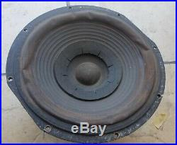 ACOUSTIC RESEARCH AR3 Woofer Alnico Original Working