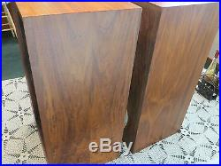 ACOUSTIC RESEARCH AR3a SPEAKERS. Alnico woofers, refinished, OEM grill cloth