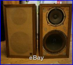 ACOUSTIC RESEARCH AR-1 Loudspeakers Vintage Rare! AR1 Altec Western Electric