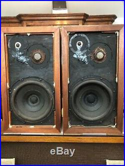 ACOUSTIC RESEARCH AR 3a SPEAKERS