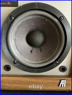 ACOUSTIC RESEARCH AR 8B Speakers - Clean - New Surrounds Sounds Great. Vintage