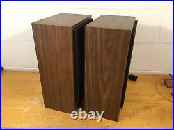 AR18S Vintage Speakers monitor book shelf acoustic research teledyne refurbed