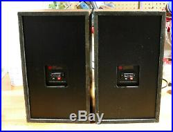 AR18s Acoustic Research speakers Excellent Surrounds and Capacitors
