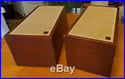 AR4 Speakers Vintage 1970s electronics Acoustic Research stereo bar rock music