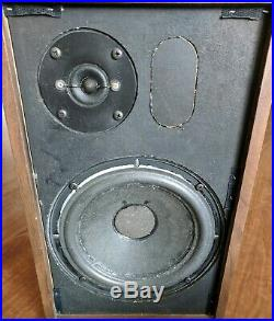 AR7 Speakers Acoustic Research Vintage Bookshelf RARE Underrated AR4X Rival