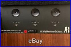 AR9 Acoustic Research Audiophile Speakers With Original Boxes Close Serials