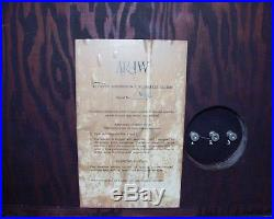 AR 1 W (Acoustic Research) Woofer in cabinet