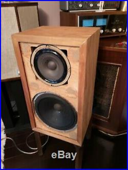 AR 1 acoustic research with 755a original cabinet and driver