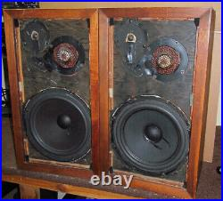 AR 3a Speaker Pair (Refoamed woofers Improved level controls. Acoustic Research)