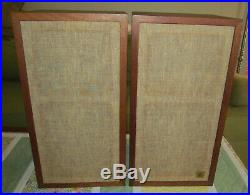 AR 4X Speaker Pair (Vintage Acoustic Research, Bookshelf, Original Drivers)
