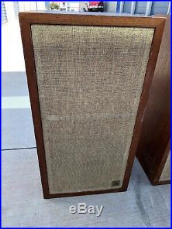 AR 4X Speaker Pair Vintage Acoustic Research, Bookshelf Read