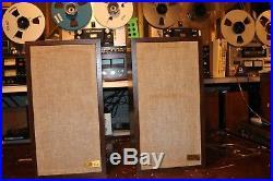 AR 4 xa Speakers near mint in original boxes see video demo