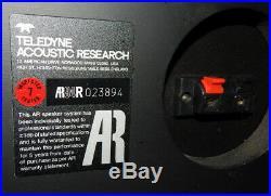 AR Acoustic Research AR94R vintage floor standing speakers