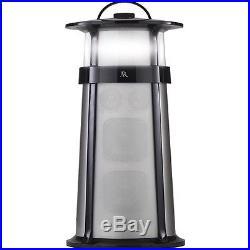 AR Hatteras Indoor/Outdoor Wireless Bluetooth Stereo Speaker Black/Silver AWSHTB