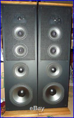 AR TSW 910 Vintage Speakers Acoustic Research Teledyne