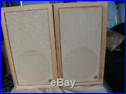 A Pair of Acoustic Research AR 1-W Floorstanding Speakers