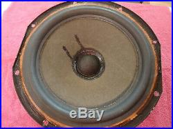 Acoustic Research 12 Inch Woofer Ar-3a Early Production, 1969-1972 Rep Surround