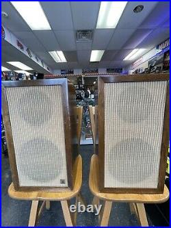 Acoustic Research AR1 Vintage Speakers Suspension System Wow! AR-1 Altec 755a