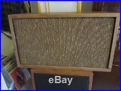 Acoustic Research AR2 Speakers Original 1957 restored