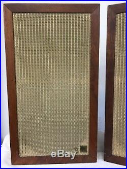 Acoustic Research AR3 Vintage Speakers 100% ORIGINAL With BOXES SUPER RARE