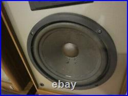 Acoustic Research AR48B Vintage Speakers Refurbished 3 Way