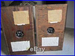 Acoustic Research AR5 speakers