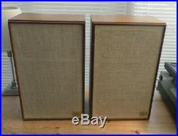 Acoustic Research AR6 Speakers (Acoustic Suspension Loudspeaker system)