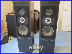 Acoustic Research AR90 speakers