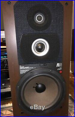 Acoustic Research AR91 Vintage Serviced Speakers Turnkey 3 Way 12 Woofers