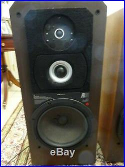 Acoustic Research AR91 Vintage Speakers 3-Way 12 Woofers