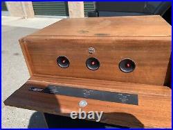 Acoustic Research AR-10pi (AR-10) Speakers- READ Below OG cabinets, rare vtg