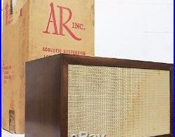 Acoustic Research AR-1W Loudspeaker, Single, Lacquered-Walnut Finish, SN 09697