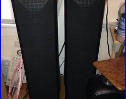 Acoustic Research AR-1 Hi-Res Loudspeaker Black Tower Speakers