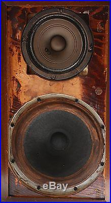 Acoustic Research AR-1 Vintage Speaker with Altec 755a 755 a AR1 AR Walnut Laq