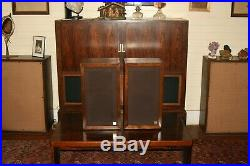 Acoustic Research AR-1 speaker pair. Seq. S/n 14873 & 14874 A very rare find