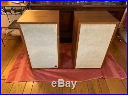 Acoustic Research AR-2AX Speakers nice pair