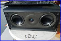 Acoustic Research AR 2C Center Channel Speaker HiRes High Resolution Series