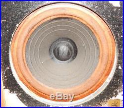 Acoustic Research AR-2 speakers, mismatched vintage pair