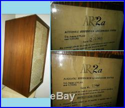 Acoustic Research AR-2a Speakers Overhaul Restored