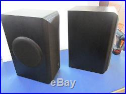 Acoustic Research AR 308 HO BLACK Wood Bi-Amplification Speakers