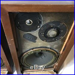 Acoustic Research AR-3A AR3A Speakers Parts Repair Vintage Set B